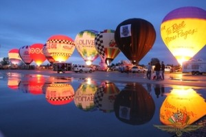 balloon water reflection