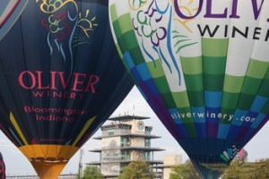 two oliver winery balloons